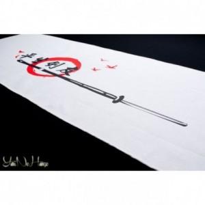 Tenugui Kendo | Tomodachi | Białe